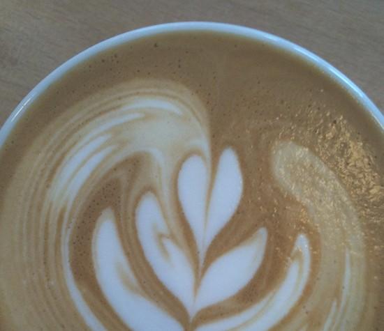 ART-DU-LATTE-CAFE VOILEE