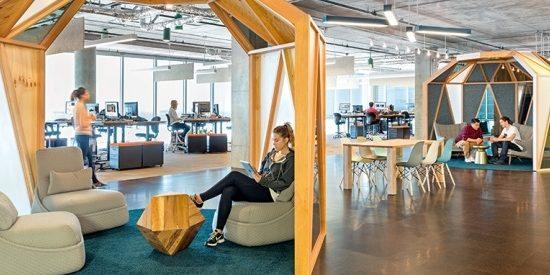 bureaux stimulant la créativité